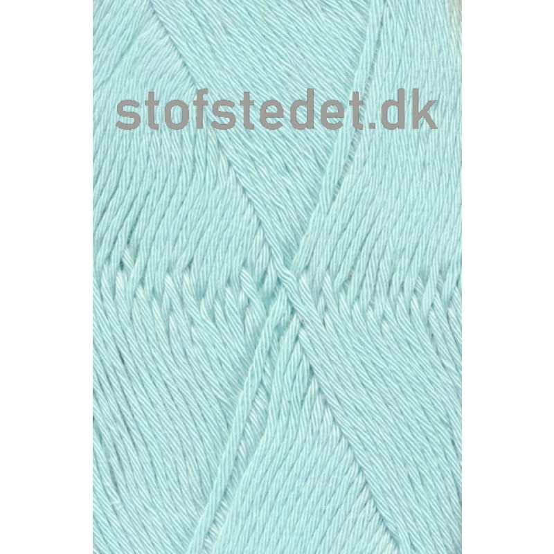 Organic Cotton/Økologisk bomuldsgarn i Lys Aqua