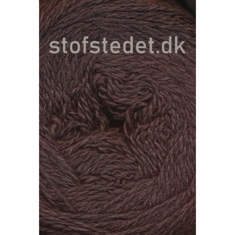 Organic 350 Wool/Cotton Gots certificeret i Mørke brun