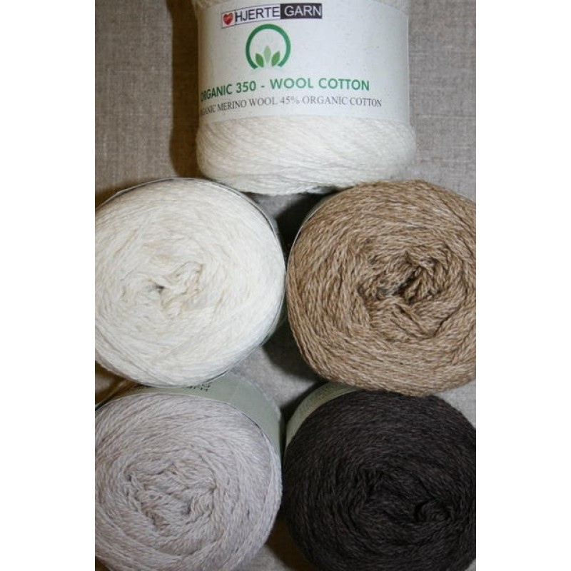Organic 350 Wool/Cotton Gots certificeret-31