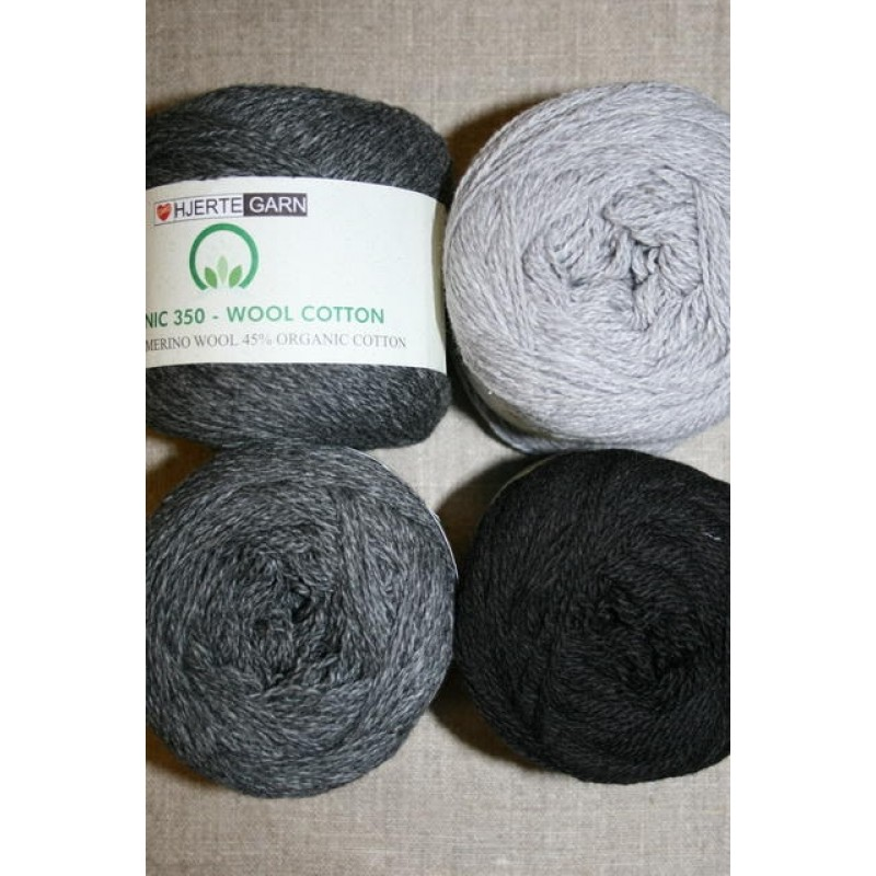 Organic 350 Wool/Cotton Gots certificeret