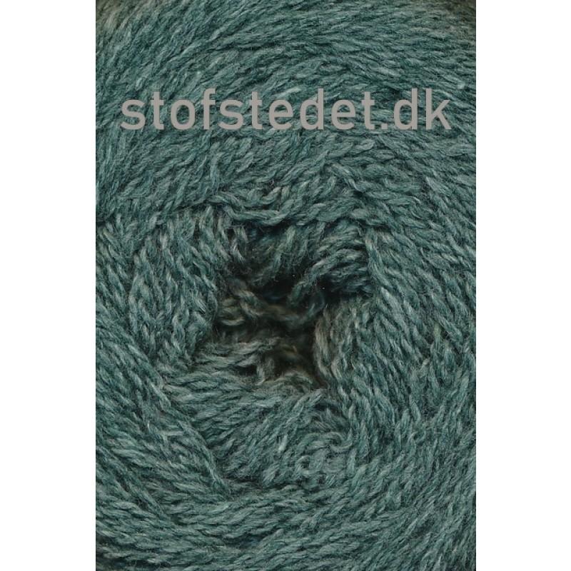 Organic 350 Wool/Cotton Gots certificeret i Grå-grøn