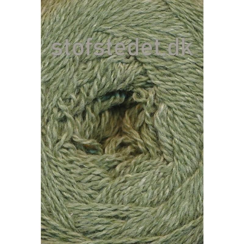Organic 350 Wool/Cotton Gots certificeret i Støvet grøn