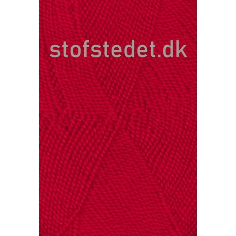 Perle Acryl   Akrylgarn fra Hjertegarn i mørk rød-315
