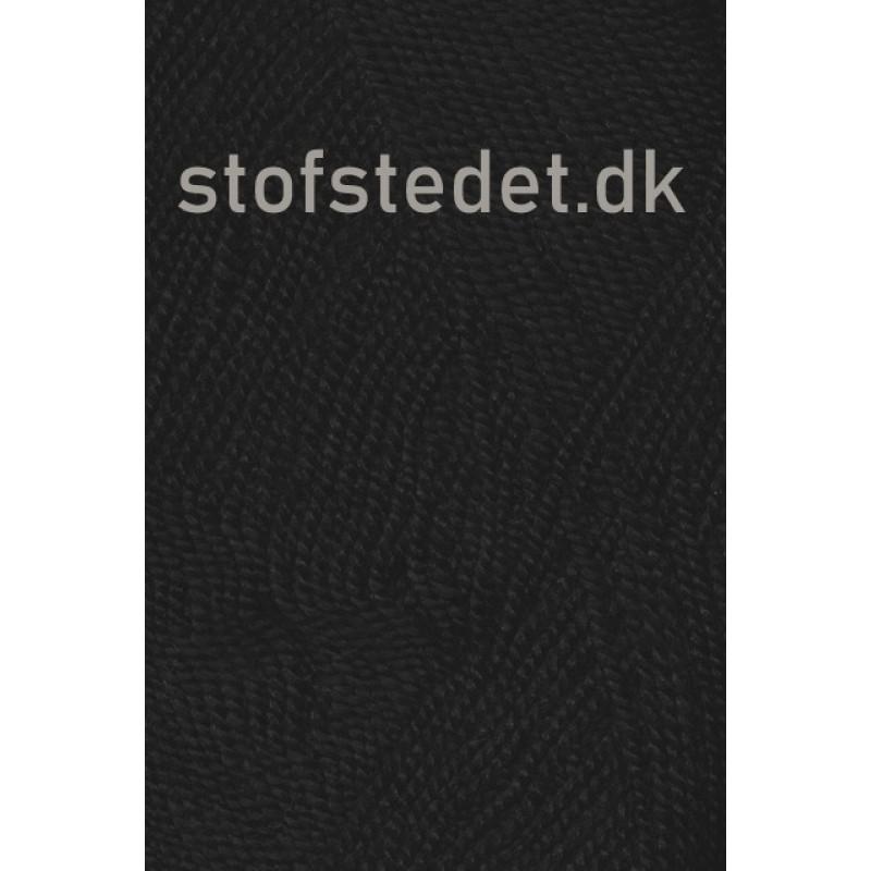 Perle Acryl   Akrylgarn fra Hjertegarn i sort-31