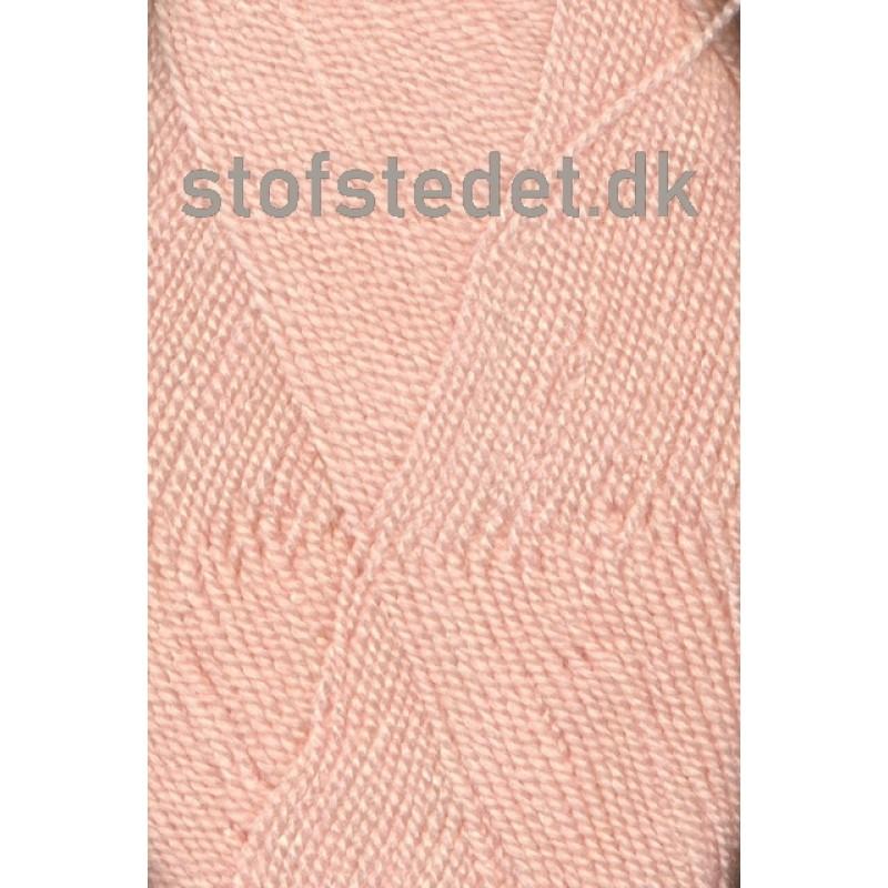 Perle Acryl   Akrylgarn fra Hjertegarn i lys laks-39