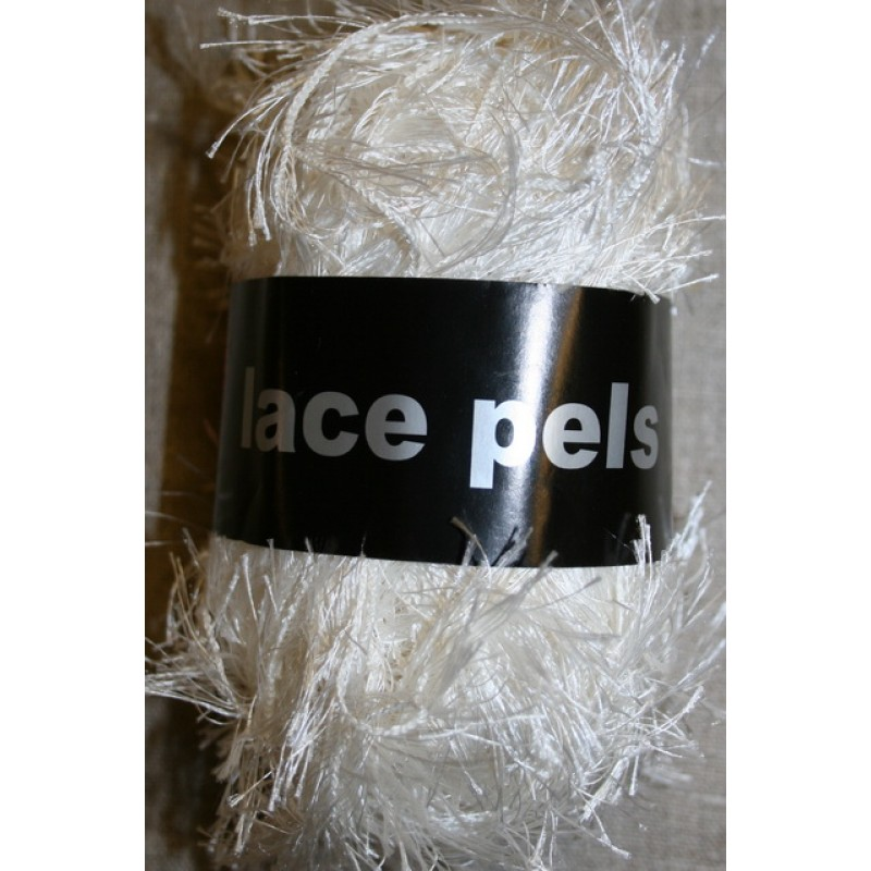 Lace Pels, off-white effektgarn-31