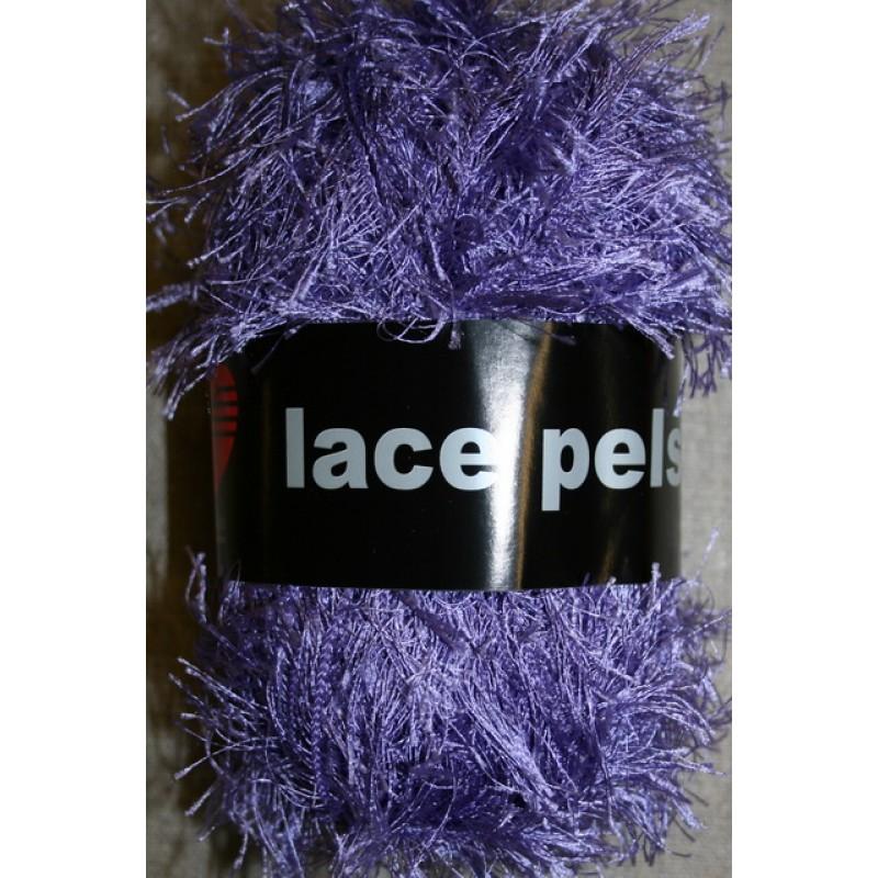 Lace Pels, lilla effektgarn