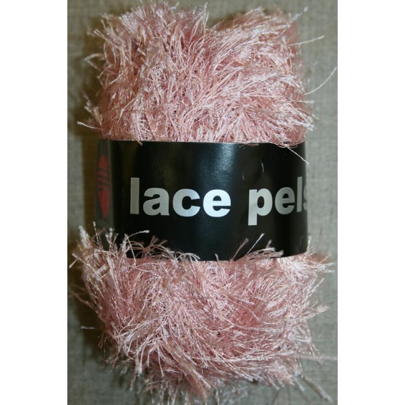 Lace Pels, lys rosa