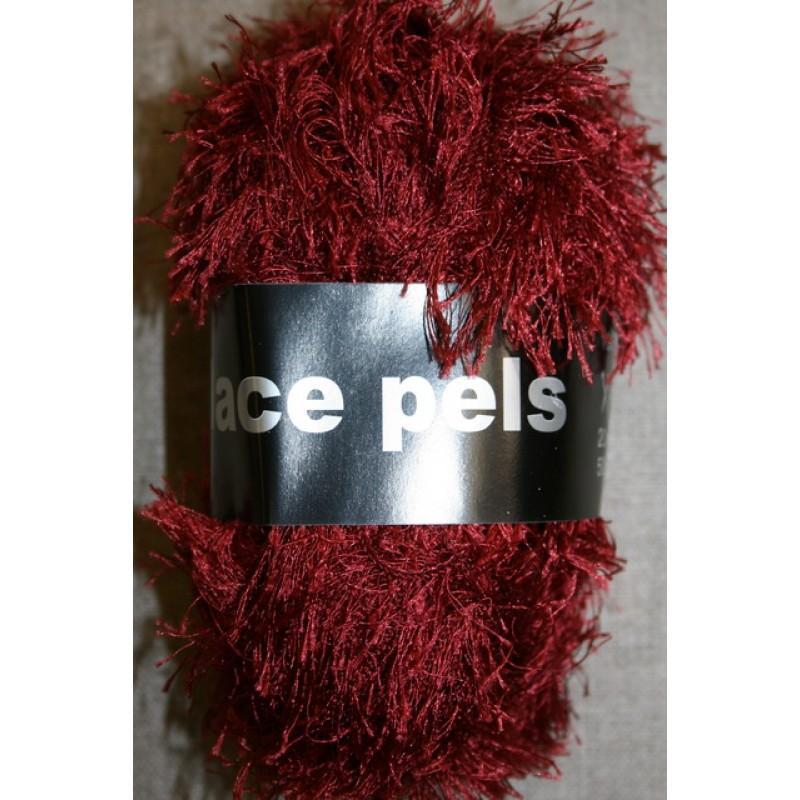 Lace Pels, bordeaux effektgarn-35