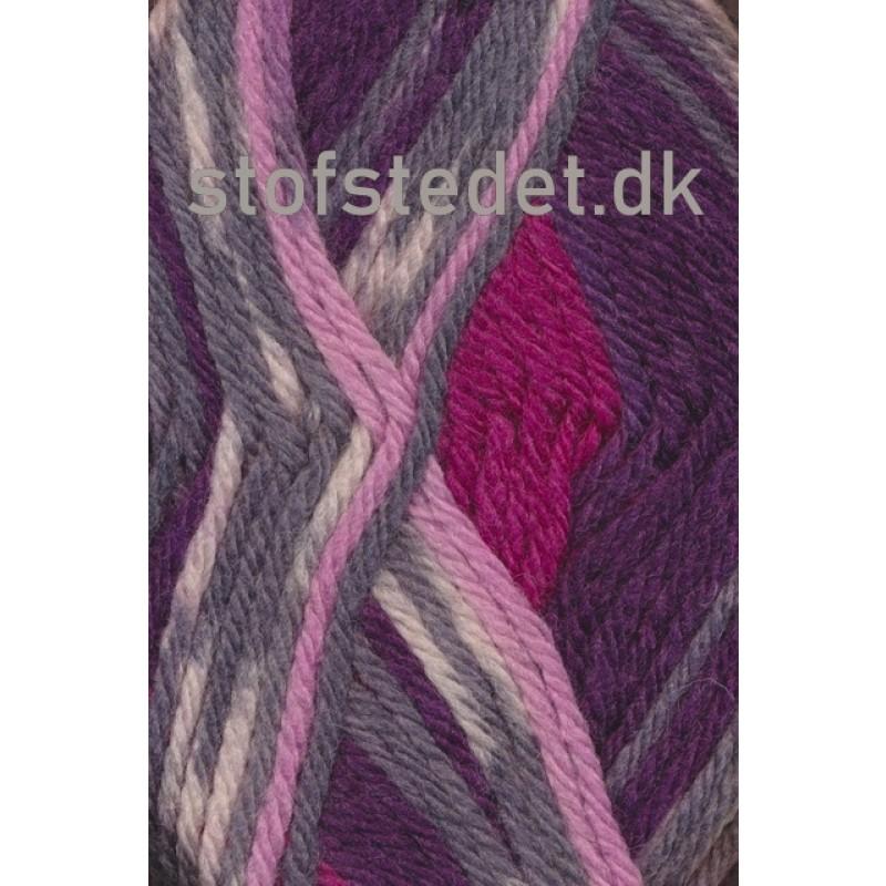 Ragg strømpegarn i rosa, bordeaux, grå-lyng og off-white-36