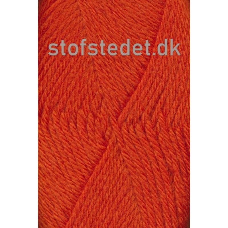 Ragg strømpegarn i orange-314