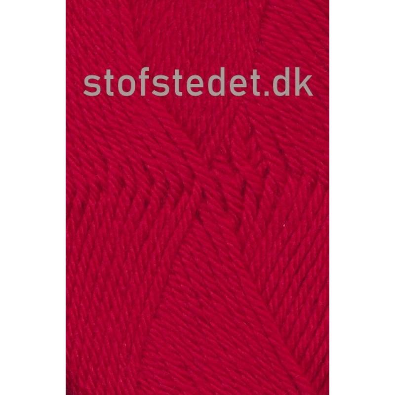 Ragg strømpegarn i rød-313