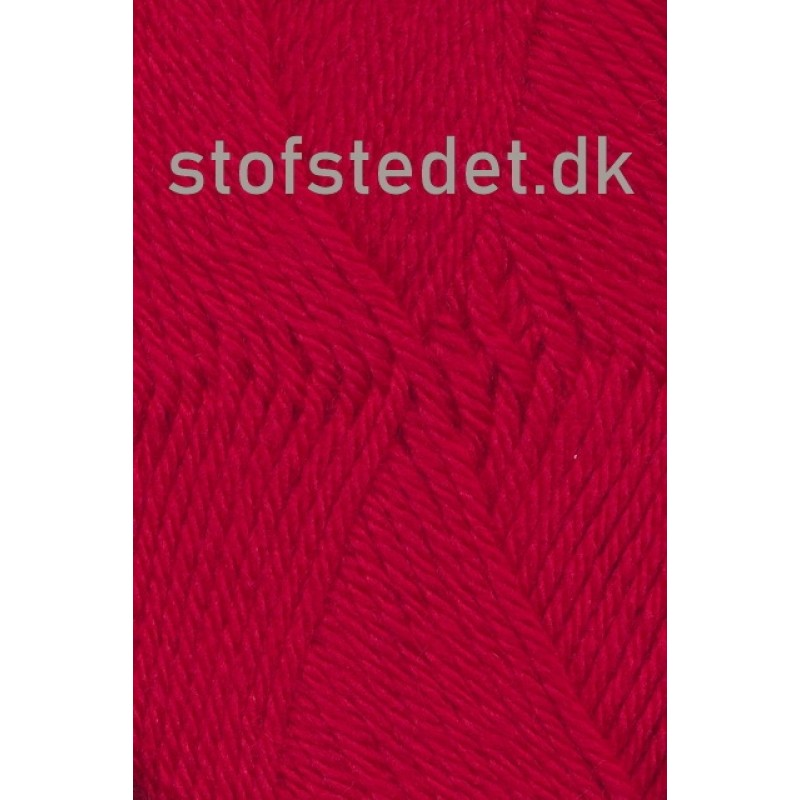 Ragg strømpegarn i rød