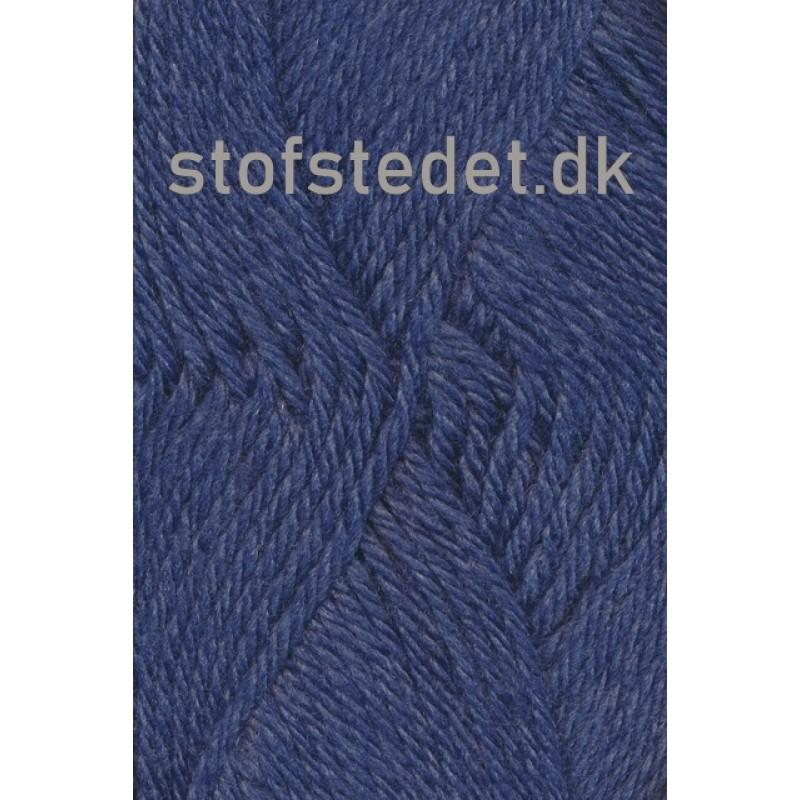 Ragg strømpegarn i denimblå-316