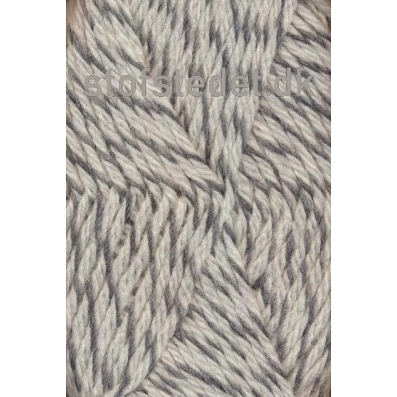 Ragg strømpegarn meleret grå og off-white-34