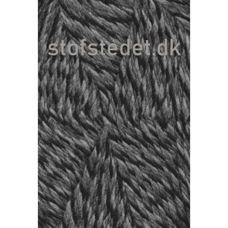 Ragg strømpegarn meleret i grå, lysegrå og sort-34