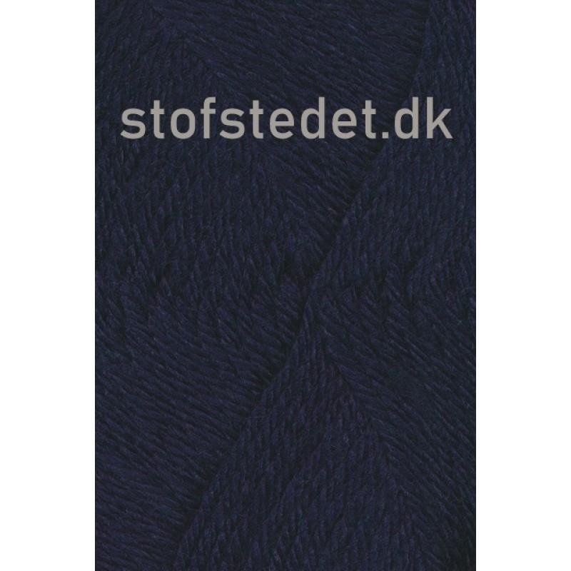 Ragg strømpegarn i mørkeblå-317