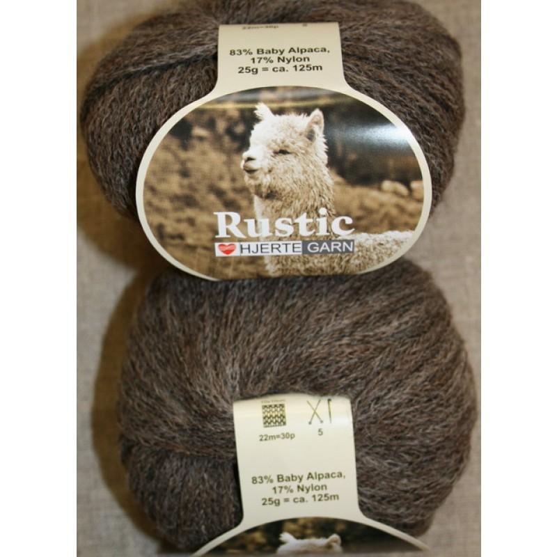 Rustic Baby Alpaca, grå-brun-31