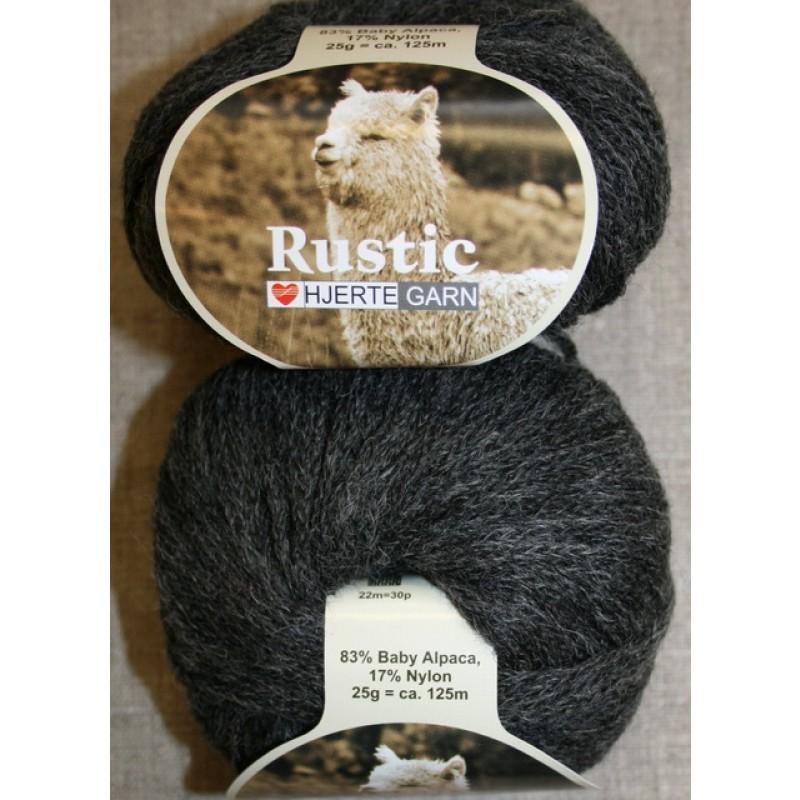 Rustic Baby Alpaca, koksgrå-31