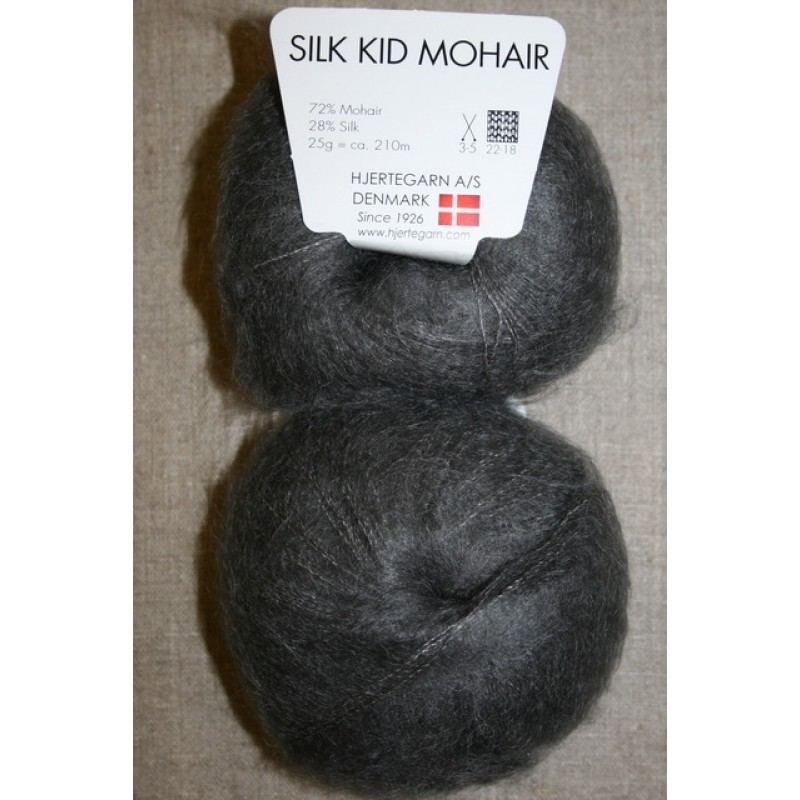 Silk Kid Mohair grå-33
