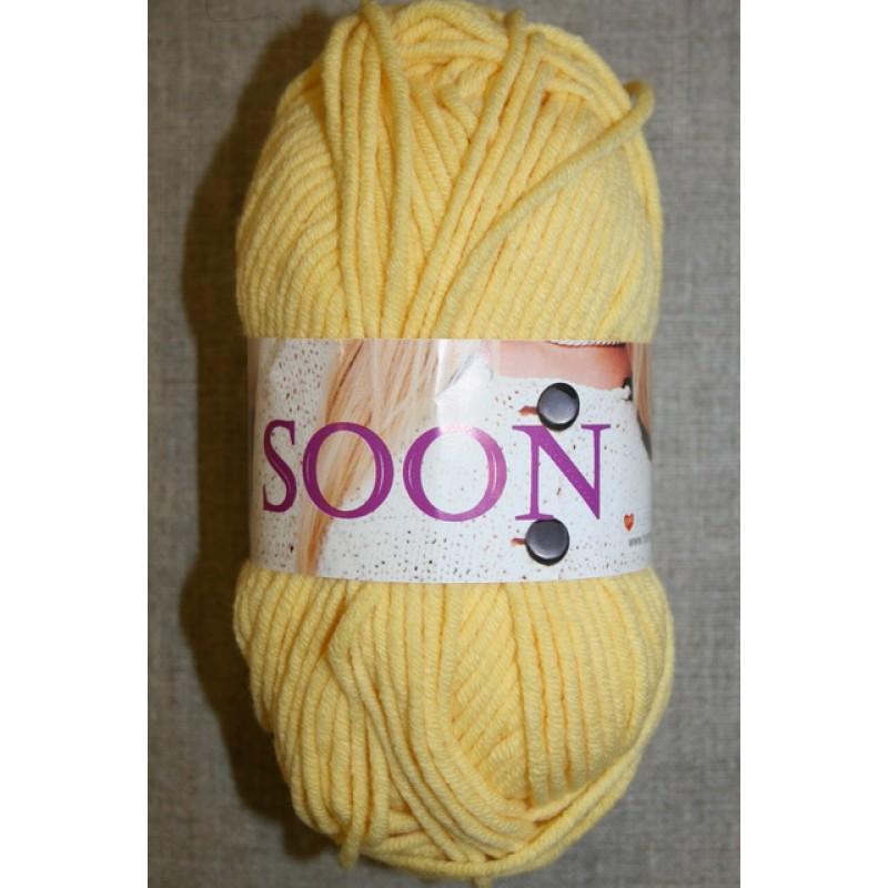 Soon bomuldsgarn lys gul