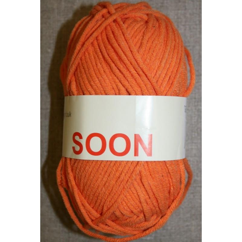 Soon bomuldsgarn orange-33