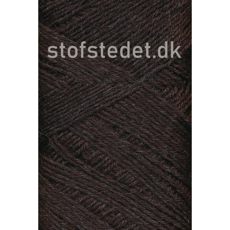 Sock 4 strømpegarn i Mørke brun | Hjertegarn-34