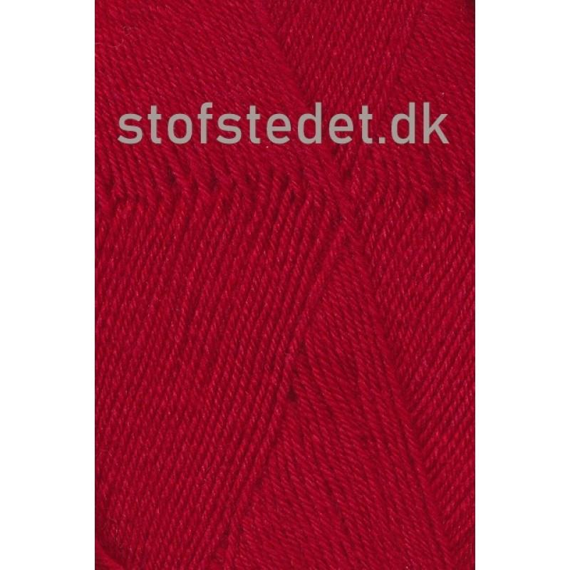Sock 4 strømpegarn i Rød | Hjertegarn