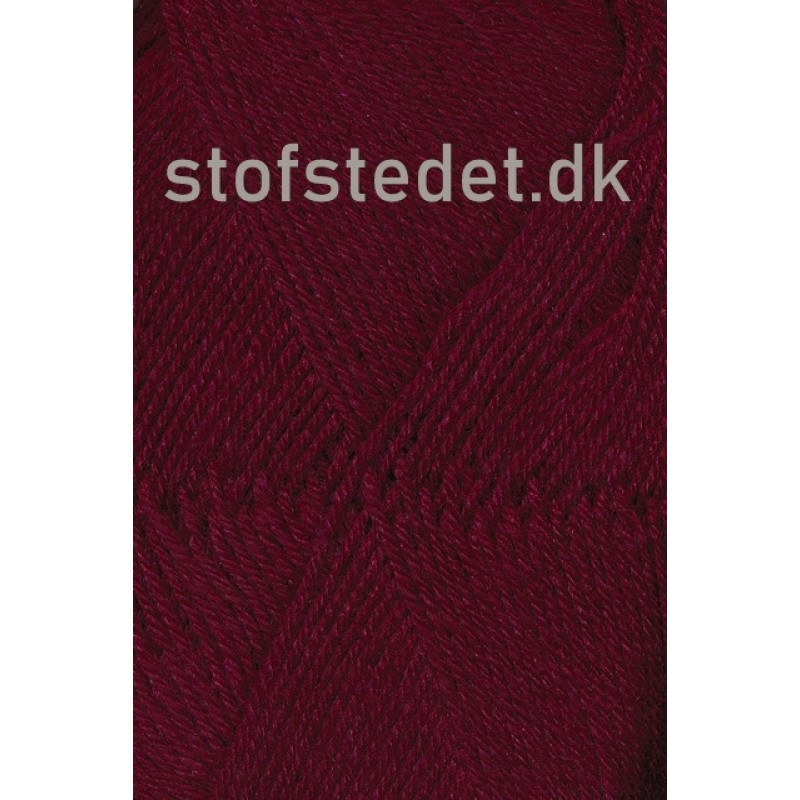 Sock 4 strømpegarn i Bordeaux   Hjertegarn-33
