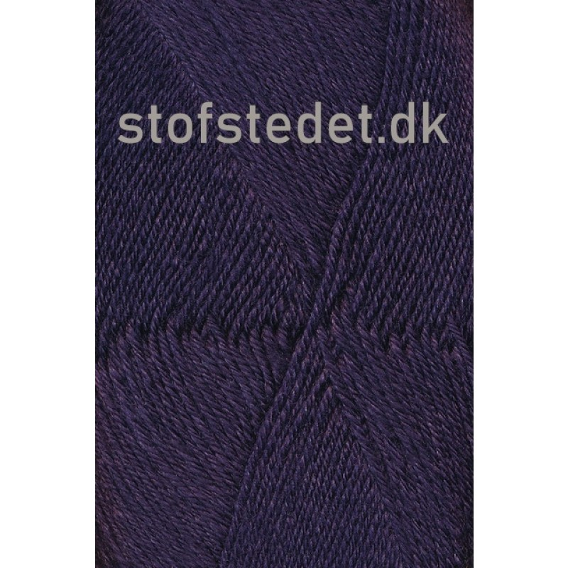 Sock 4 strømpegarn i Mørkelilla | Hjertegarn-33