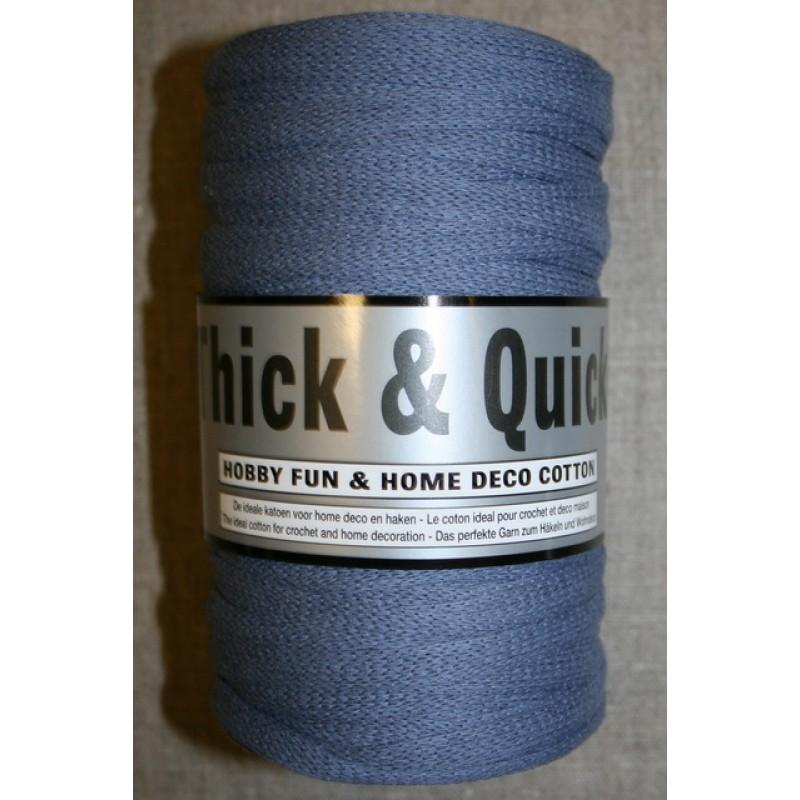 Thick & Quick/Båndgarn, denim blå
