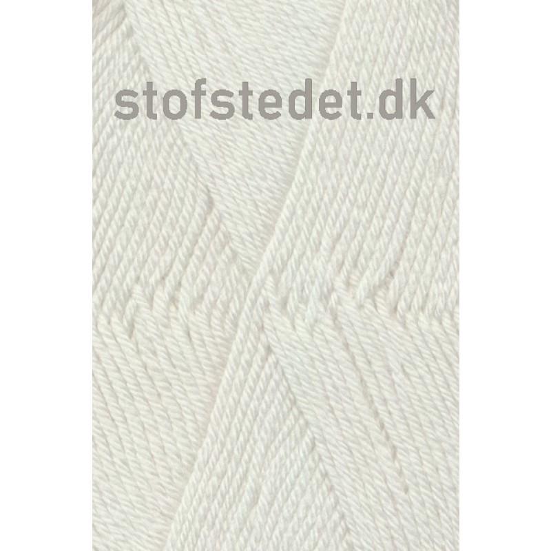 Trunte 100% Merino uld/Superwash Knækket hvid-32
