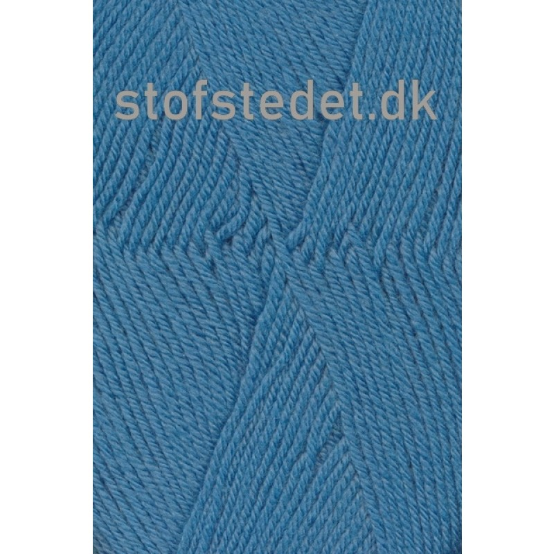 Trunte 100% Merino uld/Superwash Støvet blå-320