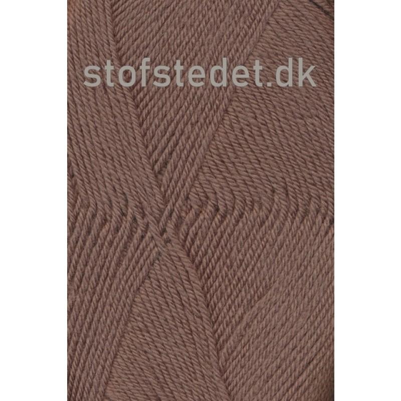 Trunte 100% Merino uld/Superwash Støvet brun-323