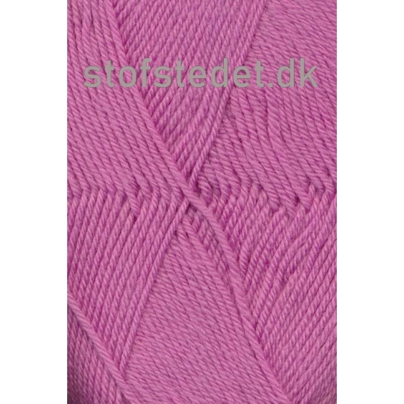 Trunte 100% Merino uld/Superwash i mørk rosa-37