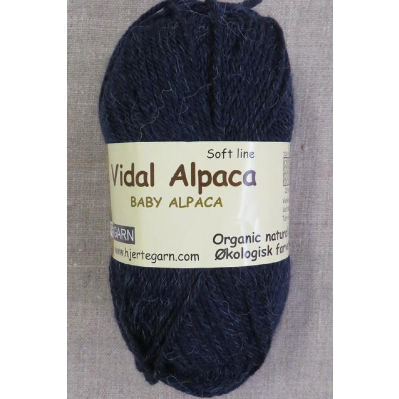 Vidal Alpaca/ Superwash Baby Alpaca i Mørkeblå-37
