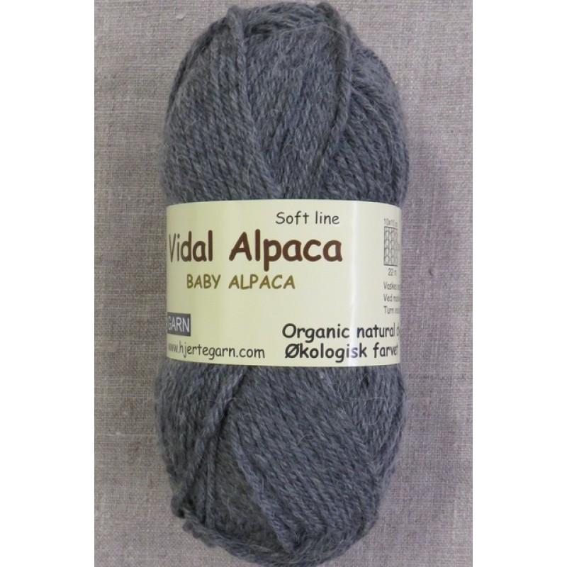 Vidal Alpaca/ Superwash Baby Alpaca i Grå-327