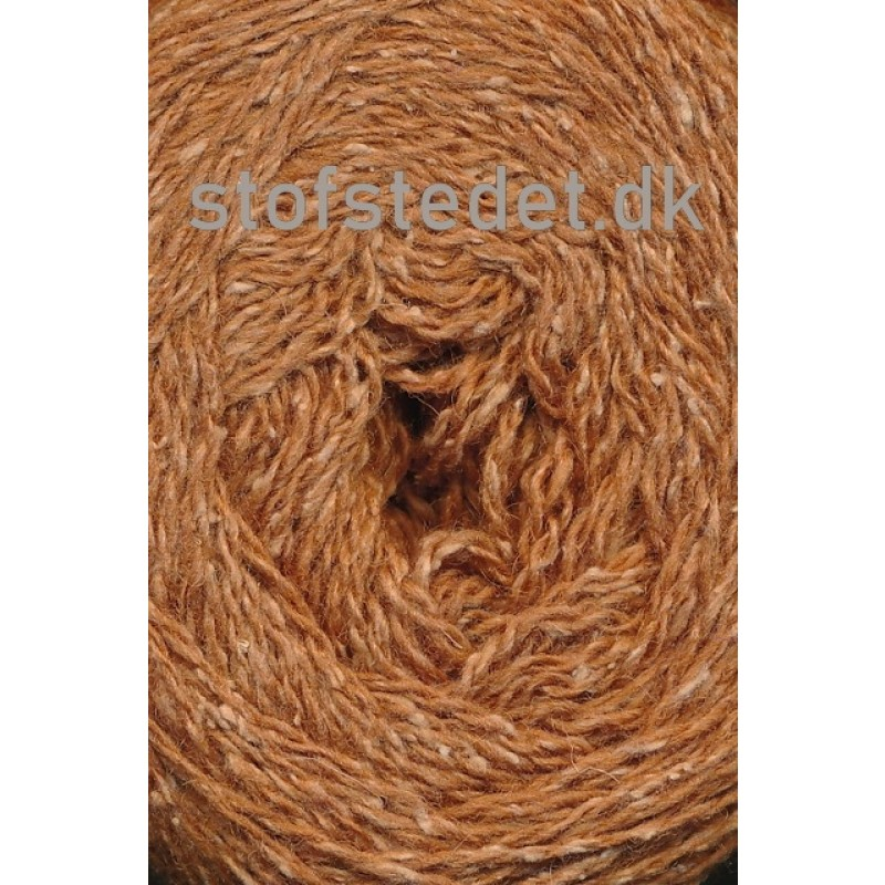 Wool Silk Gots certificeret i lys camel/gylden   Hjertegarn-317
