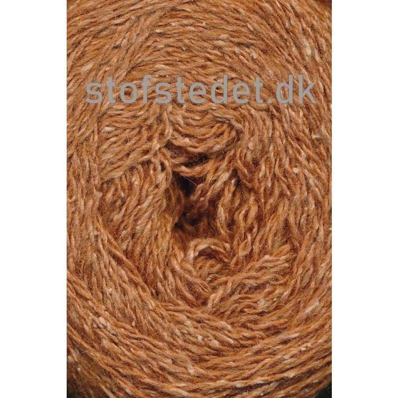 Wool Silk Gots certificeret i lys camel/gylden | Hjertegarn