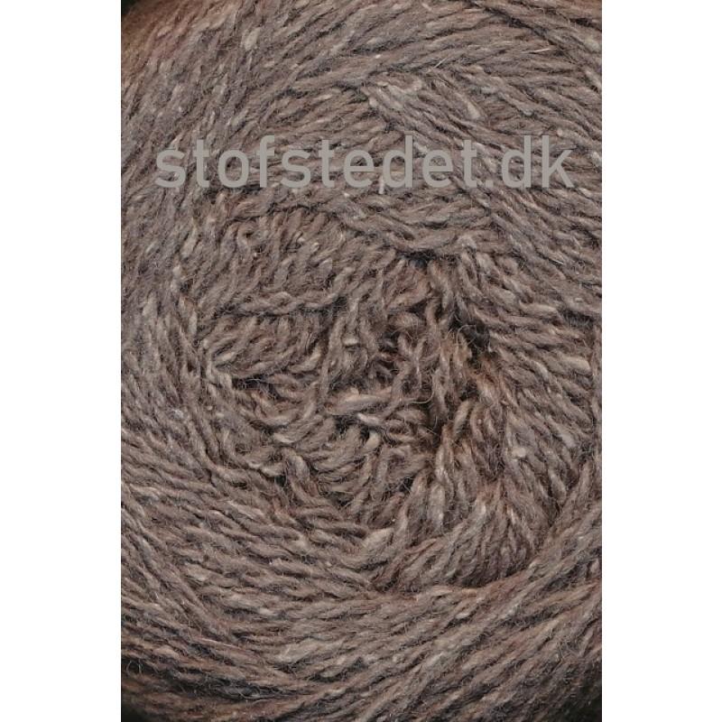 Wool Silk Gots certificeret i brun   Hjertegarn