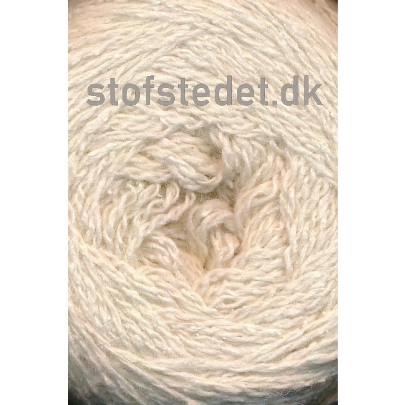 Wool Silk Gots certificeret i offwhite | Hjertegarn-39