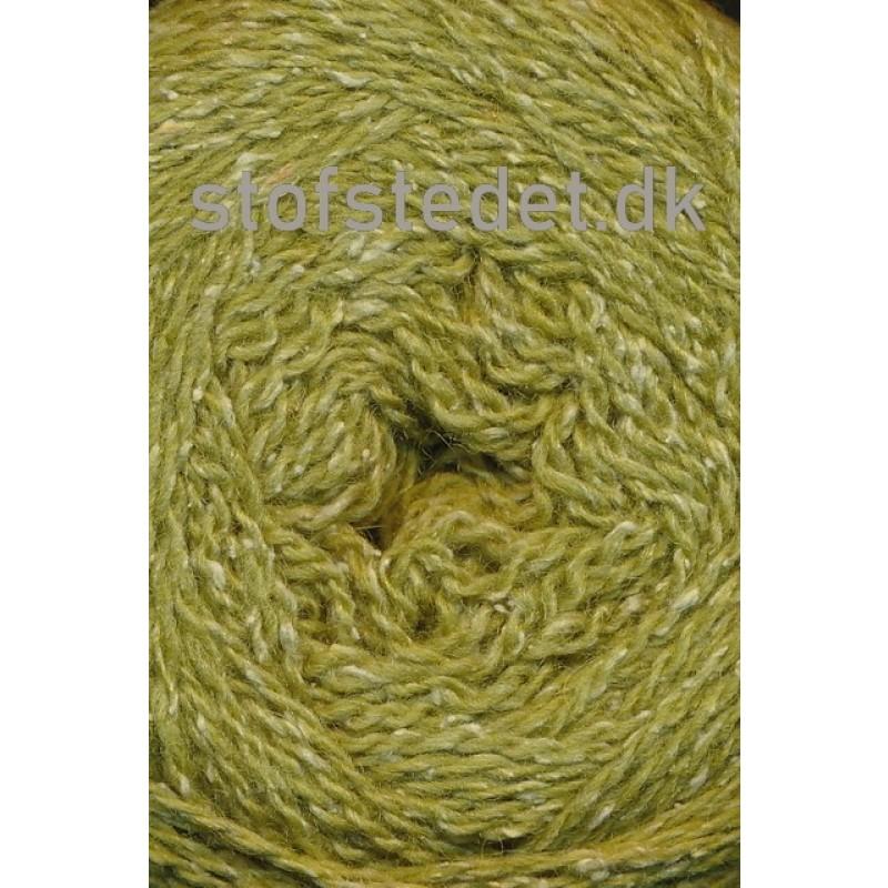 Wool Silk Gots certificeret i Oliven-grøn | Hjertegarn-315