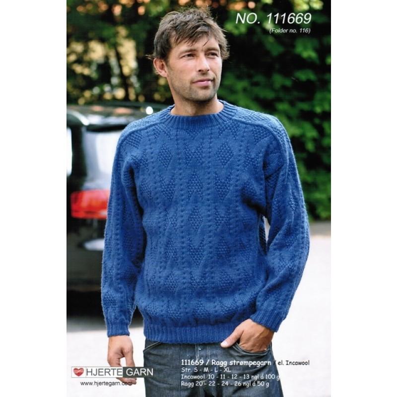 111669 Sweater m/struktur