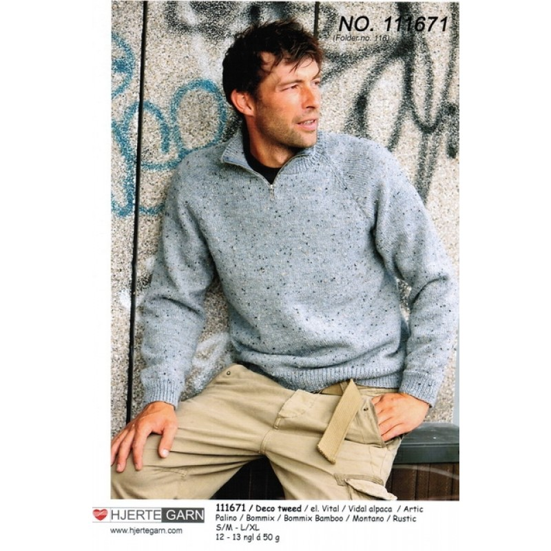 111671 Herre-sweater