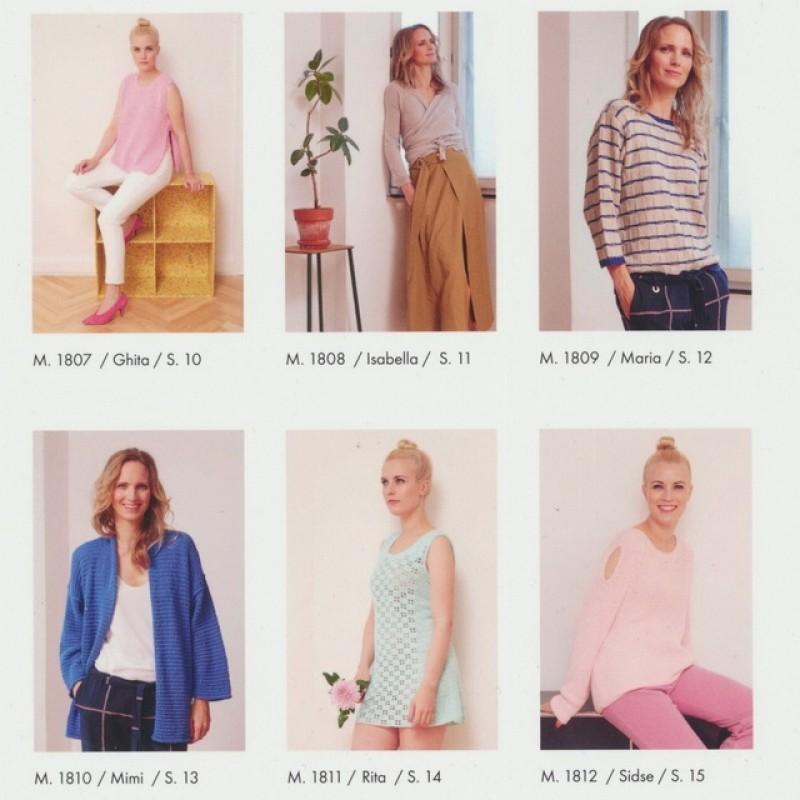 180 Hæfte Dame Casual 6 modeller