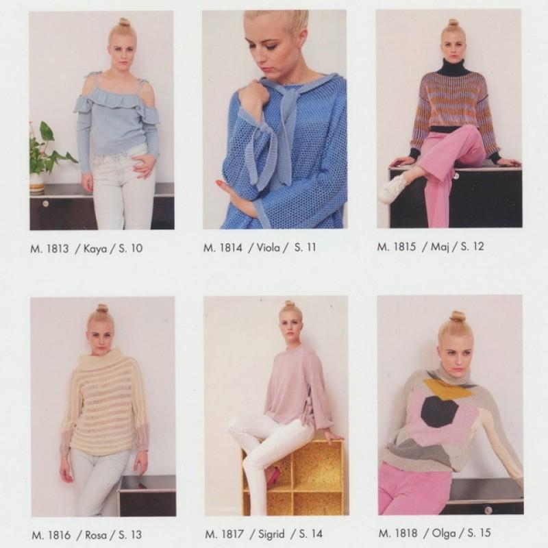 181 Hæfte Dame Trend 6 modeller