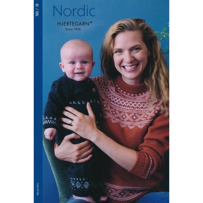 185 Hæfte Nordic Dame Herre Børn Baby