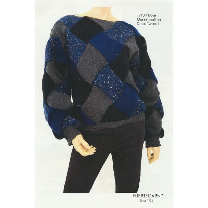 1913 Rose Sweater i neverkont-36