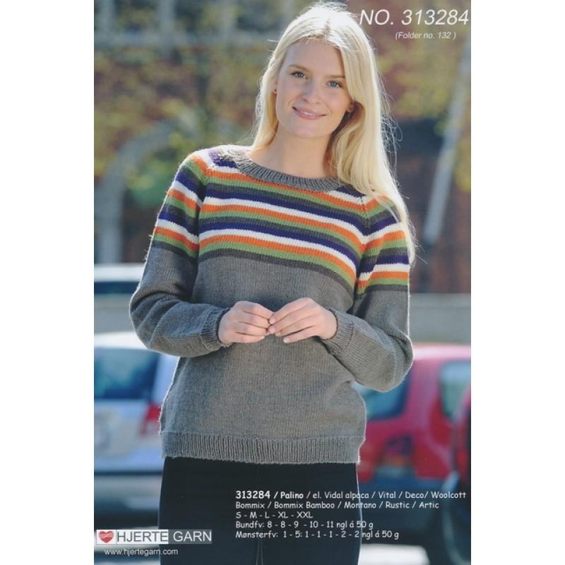 313284 Sweater m/striber-31