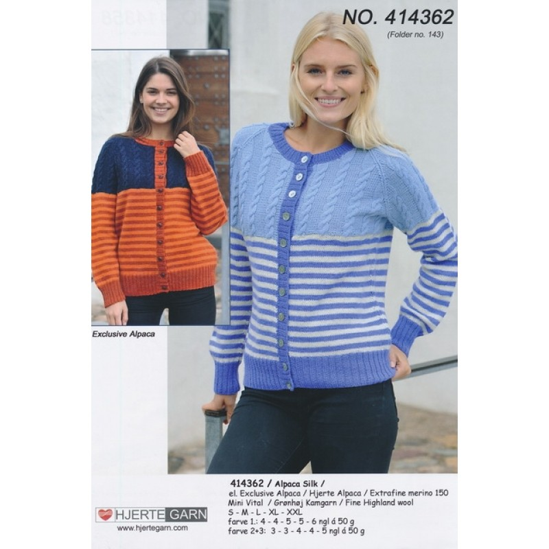 414362 Cardigan m/striber and snoning-31